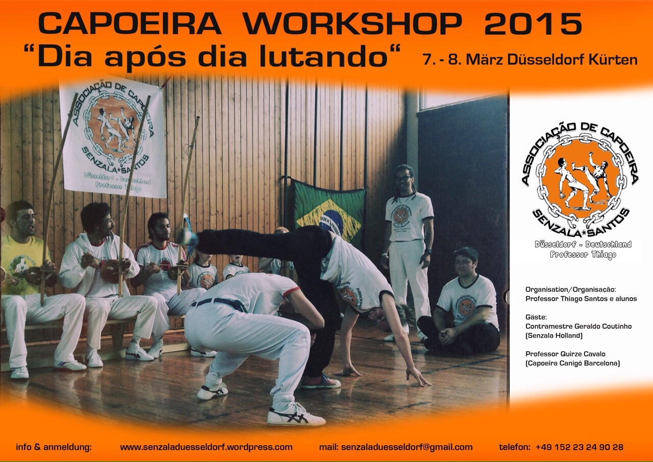 Capoeira workshop 2015 - Düsseldorf