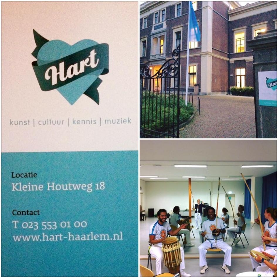 capoeira bij Hart Haarlem
